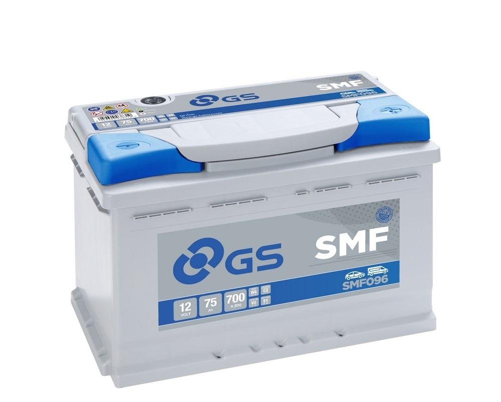 GS SMF096 75Ah 700A R+