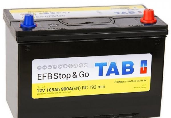 TAB EFB Stop&Go 6СТ-105 R+ EN900