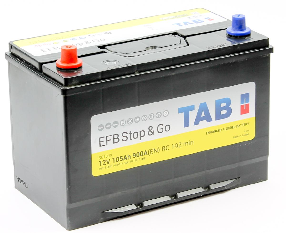TAB EFB Stop&Go D31R 105Ah 900A