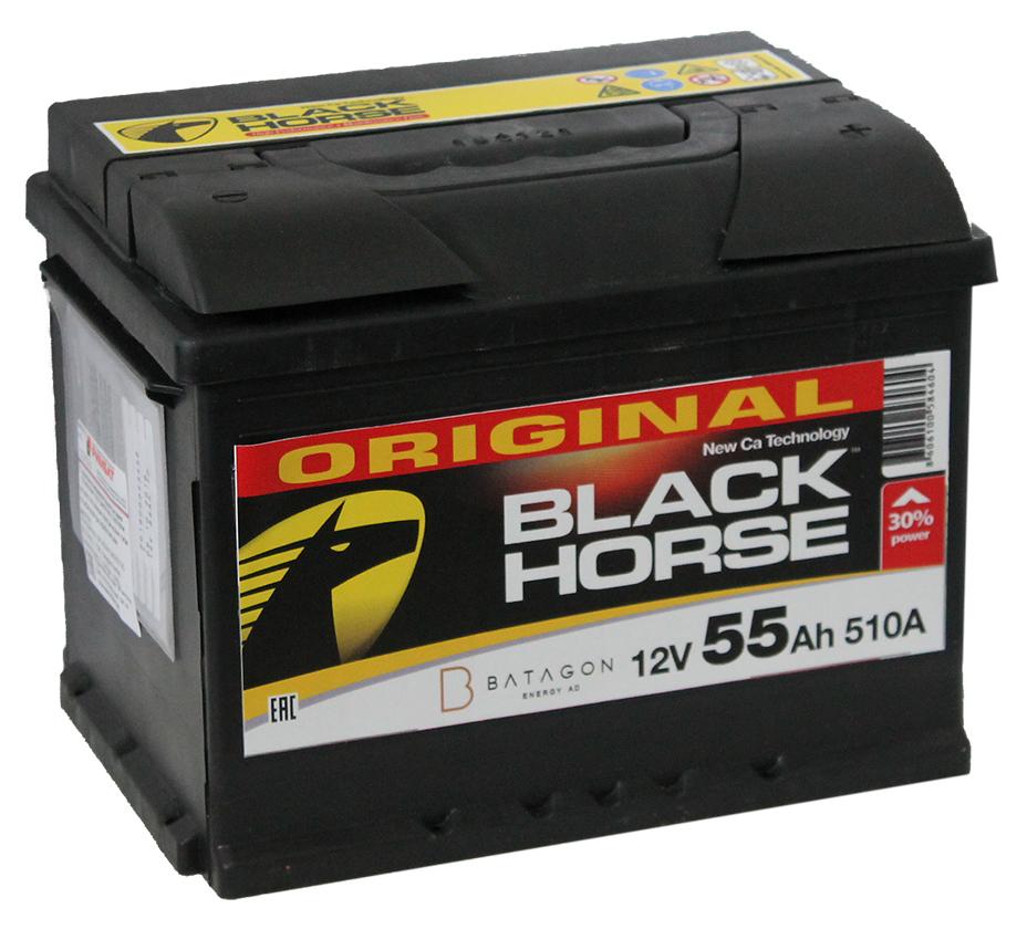 Black Horse 55Ah 510A R+