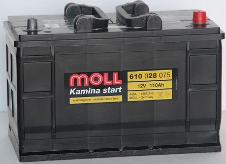 MOLL Kamina 110Ah 750A R+