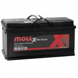 MOLL X-TRA CHARGE 90Ah 800A R+,низкий