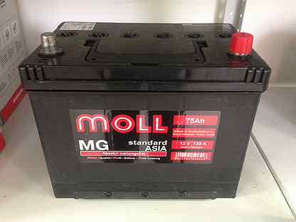 MOLL MG D26L 75Ah 735A