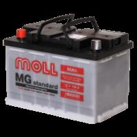 аккумулятор автомобильный Moll Standart 80 R+ 80 Ач 750 А