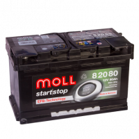 аккумулятор автомобильный Moll Start-Stop EFB 95R+