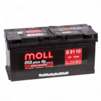 аккумулятор автомобильный Moll M3 Plus 110 R+ 110 Ач 900 А