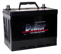 аккумулятор автомобильный DELKOR 6СТ-80 R+ 95D26L