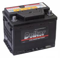 аккумулятор автомобильный DELKOR 6СТ-62 R+ 56219