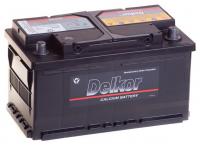 аккумулятор автомобильный DELKOR 6СТ-80 R+ 58039