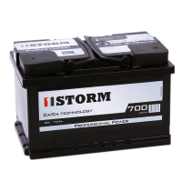 Аккумулятор  Storm 72Ач R+ низкий