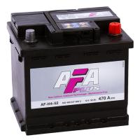 аккумулятор автомобильный AFA AF-H4-52 R+ 52 Ач 470 А