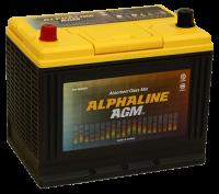 аккумулятор автомобильный ALPHALINE AGM START-STOP D26R