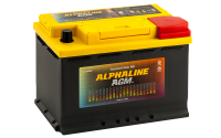 аккумулятор автомобильный ALPHALINE AGM START-STOP 70R