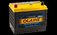 аккумулятор автомобильный ALPHALINE ULTRA 115D26R 88Ah 800A