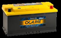 аккумулятор автомобильный ALPHALINE ULTRA 110R 110Ah 950A