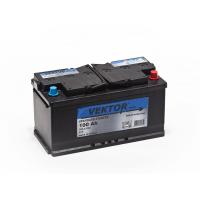 аккумулятор автомобильный VEKTOR PLUS 6СТ-100 R+ 100 Ач 780 А