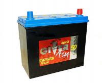 аккумулятор автомобильный GIVER ASIA 6СТ-50 R+ (70B24L) 50 Ач 450 А