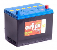 аккумулятор автомобильный GIVER ASIA 6СТ-80 R+ (95D26L) 80 Ач 650 А
