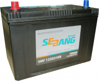 Аккумулятор автомобильный SEBANG 125D31R
