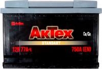 Аккумулятор АКТЕХ 77 А/ч  EN750
