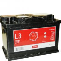 Аккумулятор MOTRIO 75 А/ч R+ EN 750A