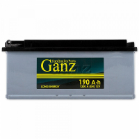Аккумулятор GANZ 190.4 А/ч R+ EN1300