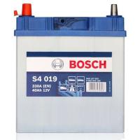 Аккумулятор BOSCH 40 А/ч S40 19  EN330 выс узк кл