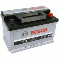 Аккумулятор BOSCH 70 А/ч S30 07 ОБР  EN640 низк