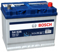 Аккумулятор BOSCH 70 А/ч S40 26 ОБР EN630 выс