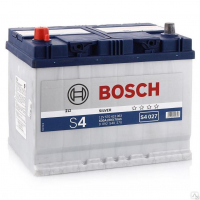 Аккумулятор BOSCH 70 А/ч S40 27  EN630 выс
