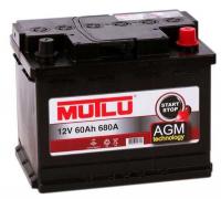 Аккумулятор MUTLU AGM 60 А/ч ОБР  EN680