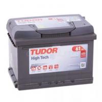 Аккумулятор TUDOR High-Tech 61 А/ч TA612 ОБР  EN600 низкий