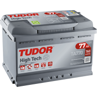 Аккумулятор TUDOR High-Tech 77 А/ч TA770 ОБР EN760